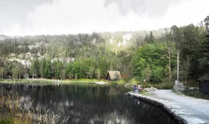 Varmestue på Fløyen