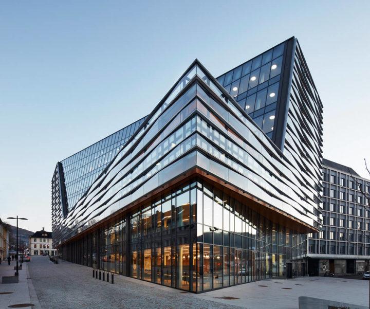Næringsbygg og byrom Jonsvollkvartalet